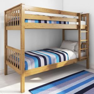 Oxford Pine Single Bunk Bed at Furniture123