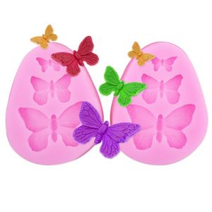 2x Butterfly Shaped Silicone Moulds - for Cake Decorating, Craft Etc -Free Del.