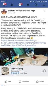 £100 Cash Prize