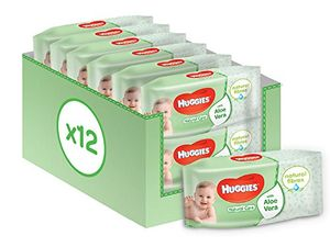 Huggies Natural Care Baby Wipes, 12 Packs (672 Wipes Total)