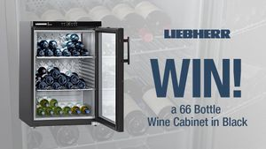 WIN a 66 Bottle Wine Cabinet in Black!