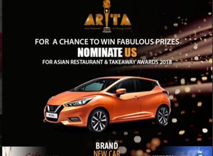 Win a Brand New Car by Nominating Your Favourite Asian Restaurant & Takeaway
