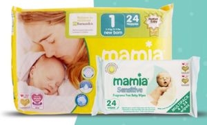 FREE Nappies & Baby Wipes from Aldi Mamia