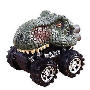 Falaiduo Kids Day Gift Toy Dinosaur Model Mini Toy Truck 50p