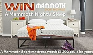 Win a Mammoth Sport Mattress worth £1,000