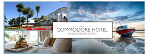 Win a 2 Night Stay at the Commodore Hotel, Instow, North Devon