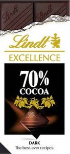Lindt Dark Chocolate Whsmith