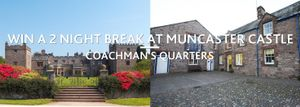 Win a Night for Two People at Muncaster Castle 4 Star Coachman's Quarters