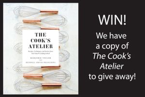 Win! a Copy of the Recipe Book the Cook's Atelier