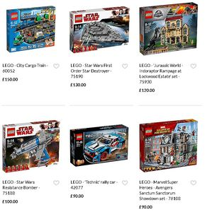 Spend £50 on LEGO and Get £10 off at the Checkout and Free Delivery