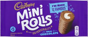 Cadbury Chocolate Mini Rolls 5pk