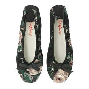 Devonshire Rose Foldaway Party Shoes