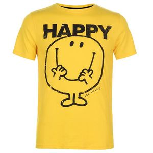 Character Men Print T Shirt Mens