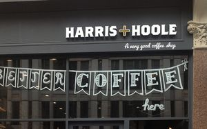 Free Coffee at Harris & Hoole