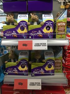 Peter Rabbit Easter Egg and Toy