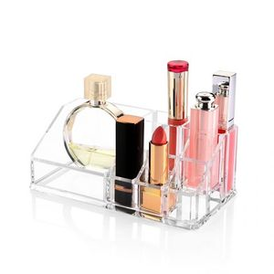 Clear Acrylic Cosmetic Organizer - Transparent