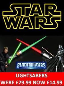 Lightsabers HALF PRICE!