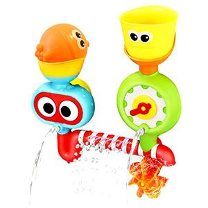 Bath Toy Set, Fansport Kids Bathtub Toy Spray Station Bath Fun Toy for Toddlers