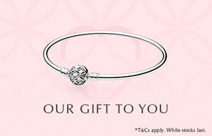 Free Bracelet When You Spend £99 at Pandora
