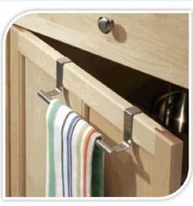 Over the Door Towel Rack (Free P&p)