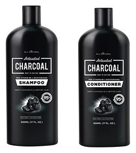 STILL ACTIVE Activated Charcoal Shampoo 500ml & Conditioner 500ml Set