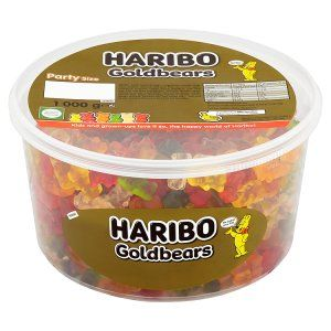 Haribo 1000g Tub for Only £4