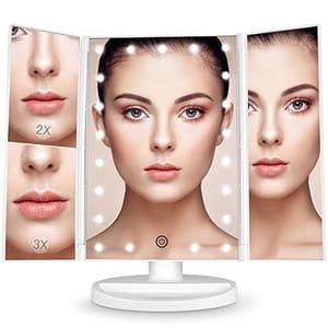 Light-up Makeup Mirror (Touch Screen)