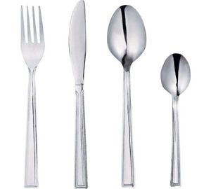Simple Value Venice 24 Piece Stainless Steel Cutlery Set