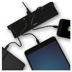 Veho Ta-6 Desktop 6 Port Usb Fast 2.4a Charging Hub