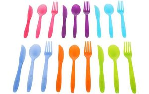 Halfords Plastic Cutlery Set of 18