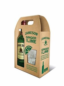 Jameson Irish Whiskey with 2 Glasses, 70 Cl