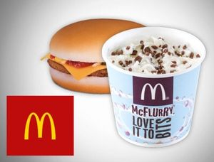 Free McDonalds Cheeseburger, McFlurry or Mayo Chicken for Students