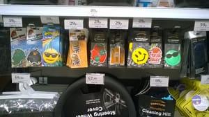 Various Car Air Fresheners