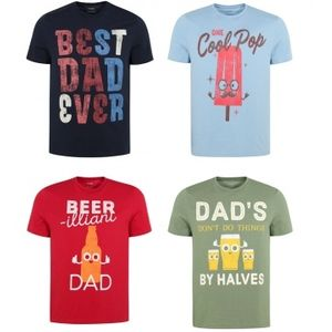 Best Dad Ever T-Shirt Only for £4.00