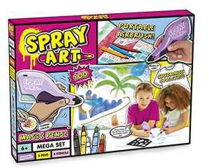 BARGAIN SALE!! Spray Art Mega Set at Amazon