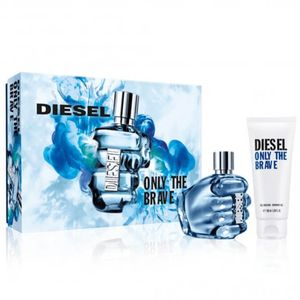 Diesel Only the Brave Eau De Toilette 50ml & Shower Gel 100ml Gift Set Only £25