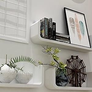 3 Wall Floating Shelves