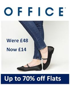 Office Shoes - up to 70% off FLATS