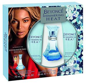 Beyonce Heat Shimmer Eau De Perfume, Shower Gel and Body Lotion Gift Set