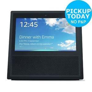 Amazon Echo Show Wireless Speaker with Alexa Voice Control at Argos/ebay