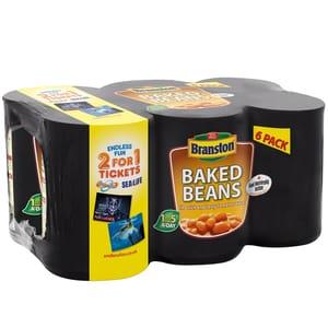 Branston Baked Beans 6 X 410g Tins £2 at B&Ms