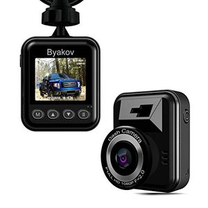 Byakov Dash Cam Full HD 1920x1080p 1.5inch LCD 170 Degrees