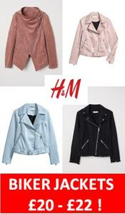 BIKER JACKETS - £20 in the H&M SALE. Better than Half Price!