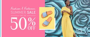 La Redoute - Summer Sale Now on up to 50% off Fashion & Footwear