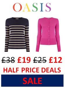 OASIS SALE - Half Price Bargains!