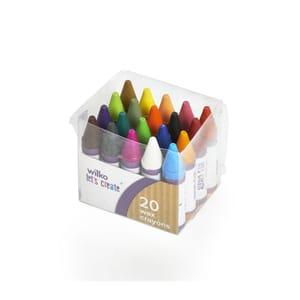 Wilko Chubby Wax Crayons 20pk