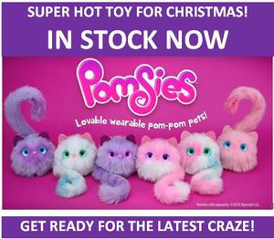Where to Buy POMSIES in the UK? - HOT TOP TOY 2018