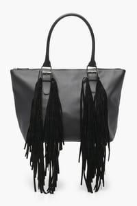 Buckle & Fringe Day Bag
