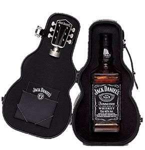 Jack Daniel's Old No.7 Guitar Case Whisky Gift Pack, 70 Cl