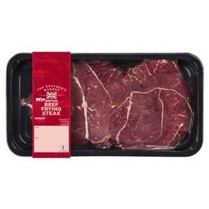 The Butcher's Market British Beef Frying Steak 500g